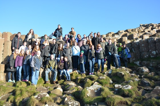 Giants Causeway Group Photo